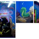 Salle sous l'océan