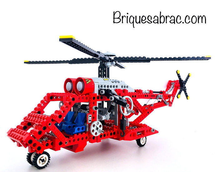 LEGO ® TECHNIC 8856 Whirlwind Rescue (Occasion)