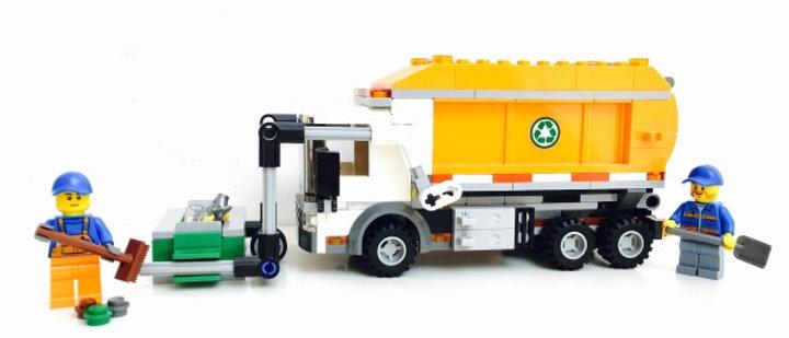 LEGO ® CITY 60118 Le camion poubelle