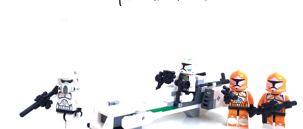 LEGO ® STAR WARS 7913 Clone Trooper Battle Pack
