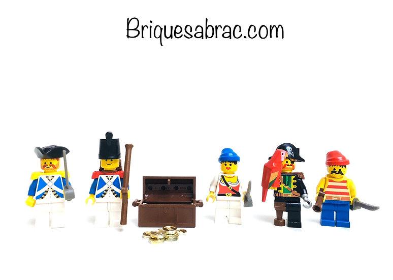 LEGO ® PIRATES 6251 Pirate Minifigures Sea Mates (Occasion)
