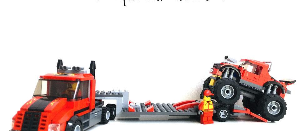 LEGO ® CITY 60027 Monster Truck Transporter