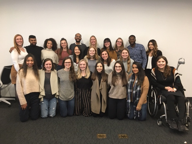 The 2020 cohort of MHSc Nutrition Communication students.