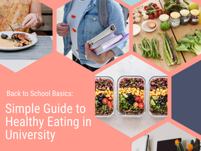 Simple Guide to Healthy Eating in University