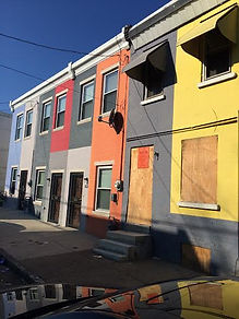 Philly clunker houses