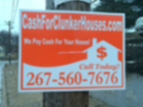 cash for clunker houses phila