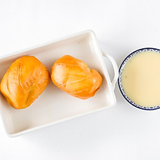 FRIED MANTOU + CONDENSE MILK