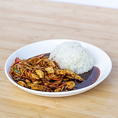 Cantonese Stir Fry Eggplant