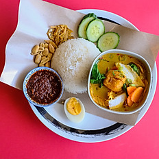 NASI LEMAK VEG CURRY