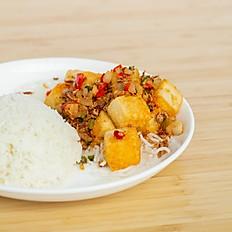 Salt & Pepper Tofu Rice