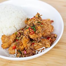 Salt & Pepper Fish Rice