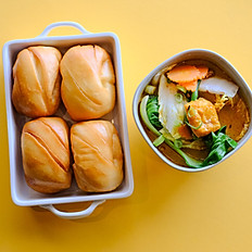 VEG CURRY MANTOU