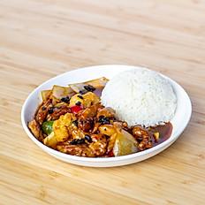 Black Bean Chicken Rice