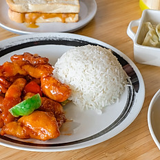 Sweet & Sour Chicken Rice