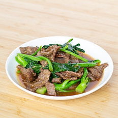 Chinese Broccoli + Beef