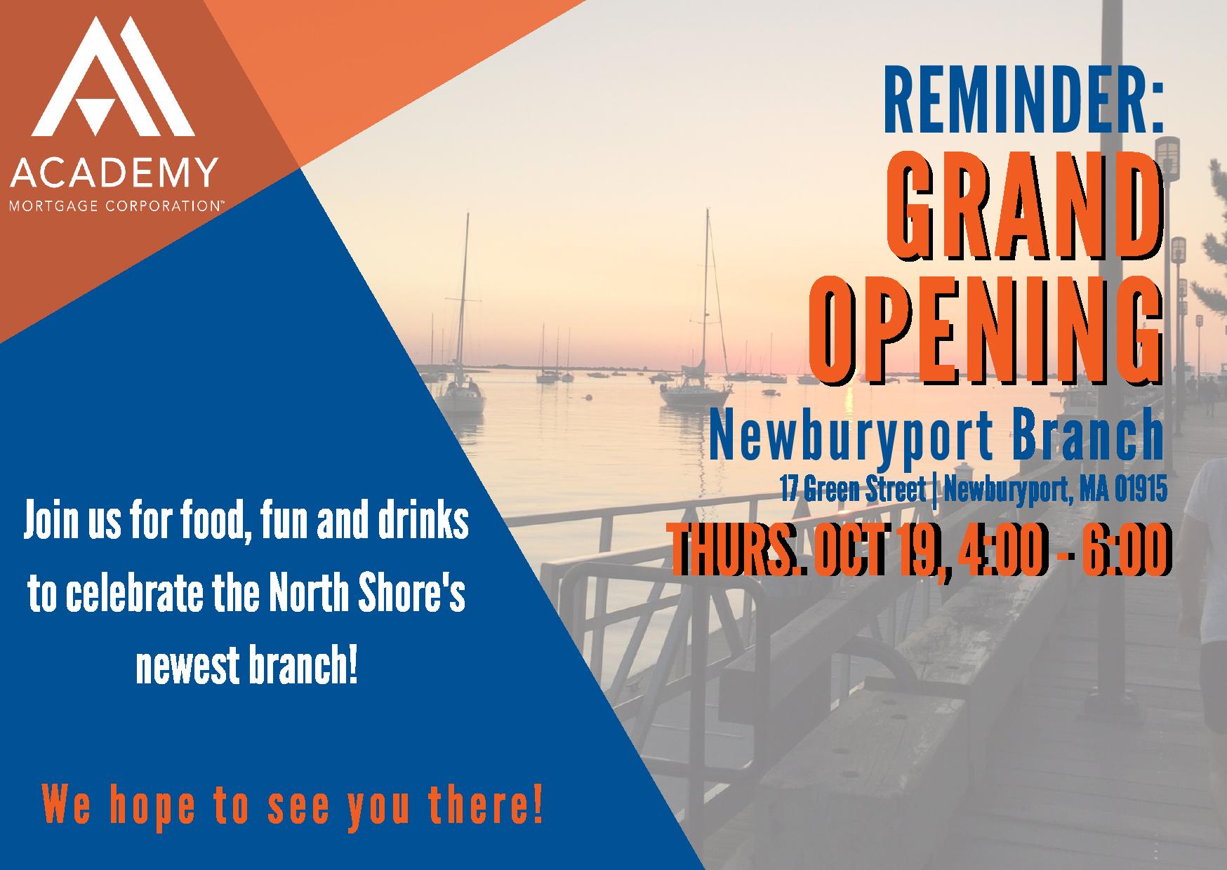 Newburyport Opening Postcard
