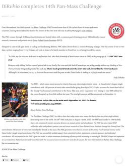 DiRubio completes 14th Pan-Mass Challenge