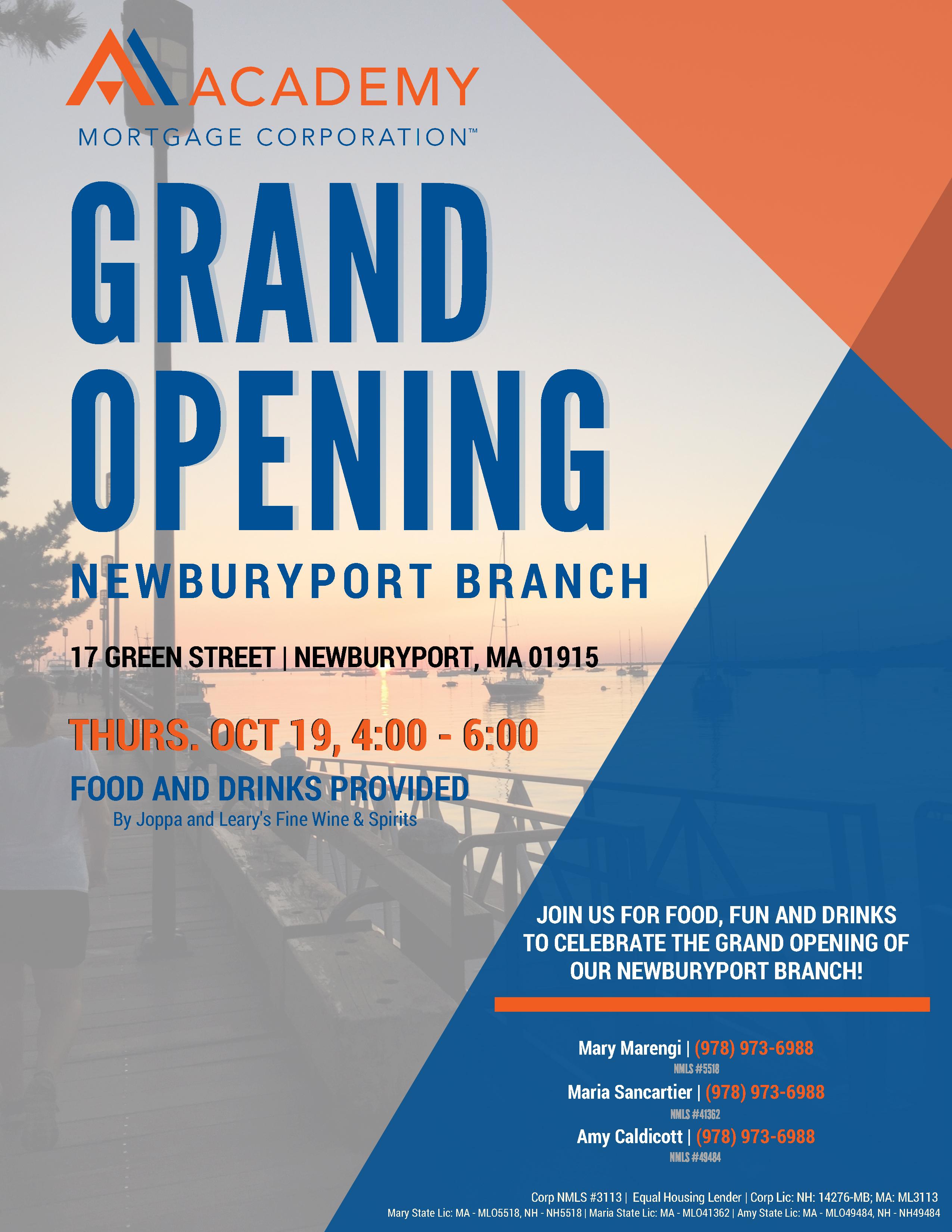 Newburyport Opening