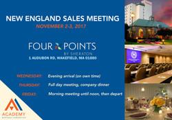 NE Sales Meeting November 2017