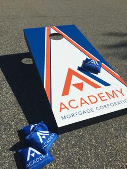 Academy Cornhole Board and Bags