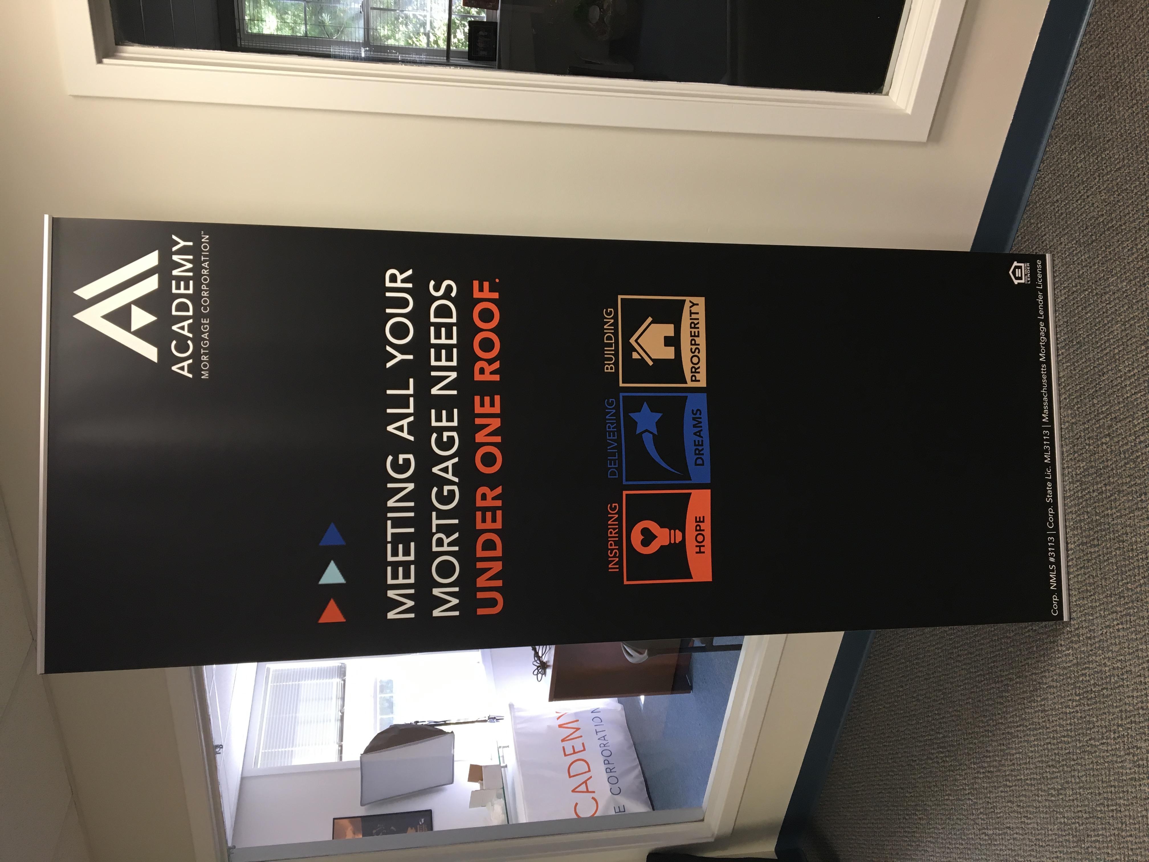 Custom Academy Banner