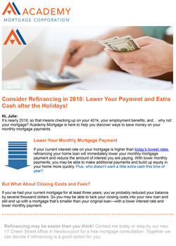 1Julie_ it's time for your yearly mortgage check-up!