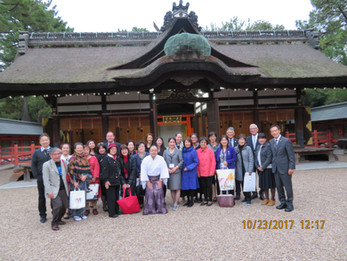 60th San Francisco Delegation visits Osaka
