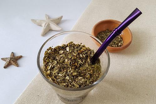 Bombilla, pajilla para té con filtro