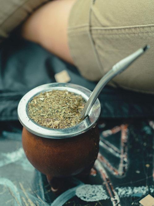 Bombilla, pajilla para té con filtro |