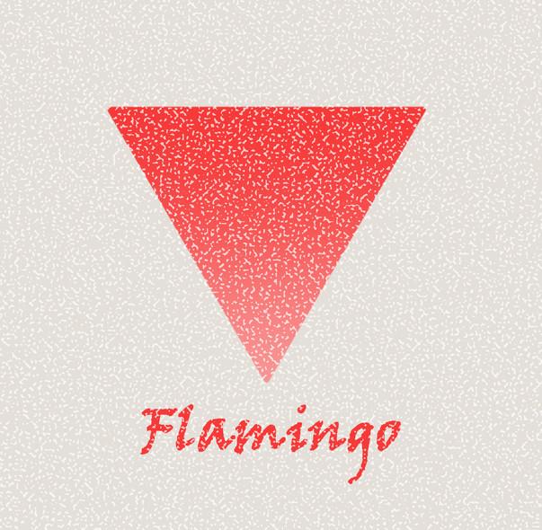 底特律警探組RISO雙色印刷圖文本《Flamingo》
