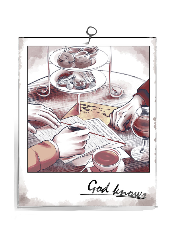 感染好預兆新刊《God knows》