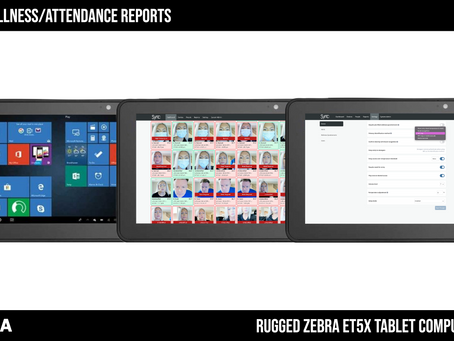 Zebra Tablets: Mobile Sync Scan Reports