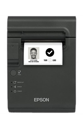 Sync Scan + Epson Wellness Badge Printer