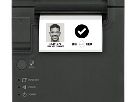 Sync Scan + Epson Wellness Badge Printer