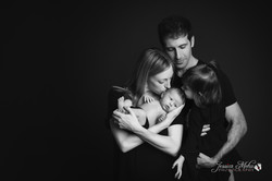 Sibling Newborn Photographs Baby Profess