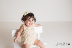 Ann Arbor Michigan One Year Baby Cake Smash Boho Lifestyle Photography Studio--11