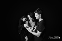 Fine Art Newborn Baby Portrait Studio Howell Michigan Jessica Mehu Photography--2