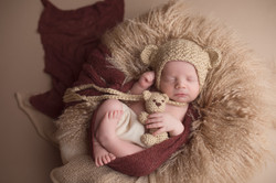 Okemos Michigan Newborn Baby Photography