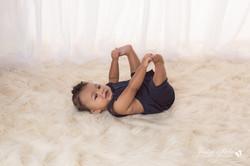 six month baby milestone professional photography studio Michigan--18