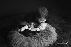 Newborn Siblings Professional Photograph