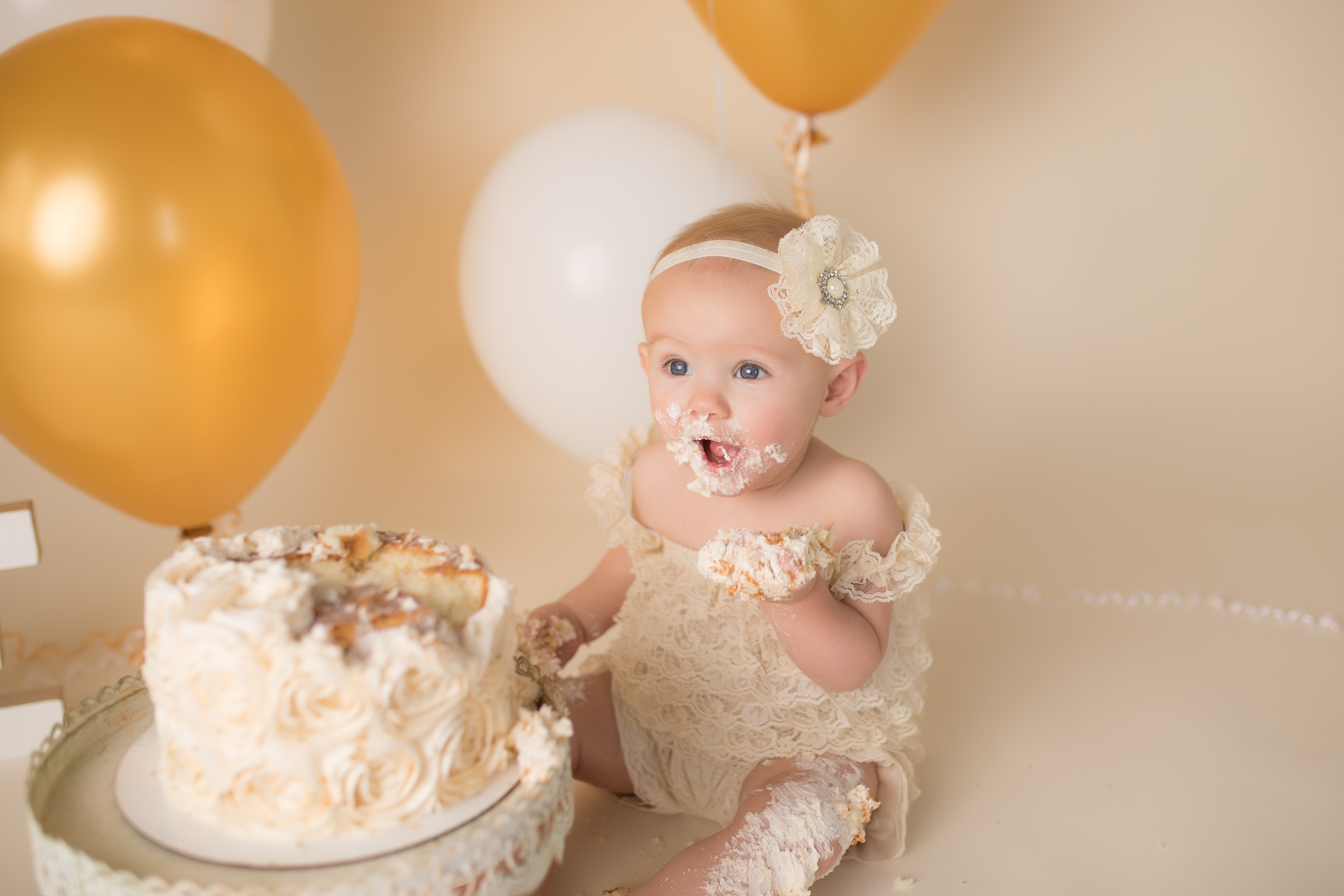 One Year Baby Photography Session Michig