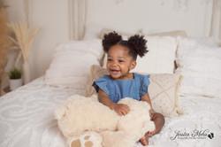 Novi Michigan One Year Baby Cake Smash Boho Lifestyle Photography Studio--9