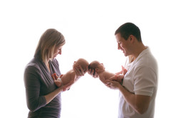 Twin Newborn Photography Michigan-