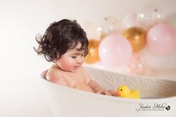 Ann Arbor Michigan One Year Baby Cake Smash Boho Lifestyle Photography Studio--30