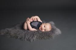 Baby Milestone Sessions in Michigan--2