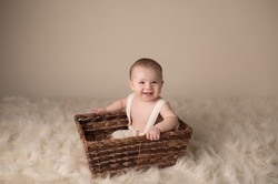 Michigan six month baby photography-