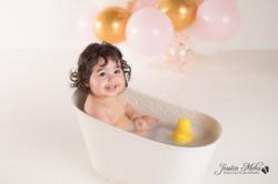 Ann Arbor Michigan One Year Baby Cake Smash Boho Lifestyle Photography Studio--28