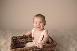 Michigan six month baby photography--2