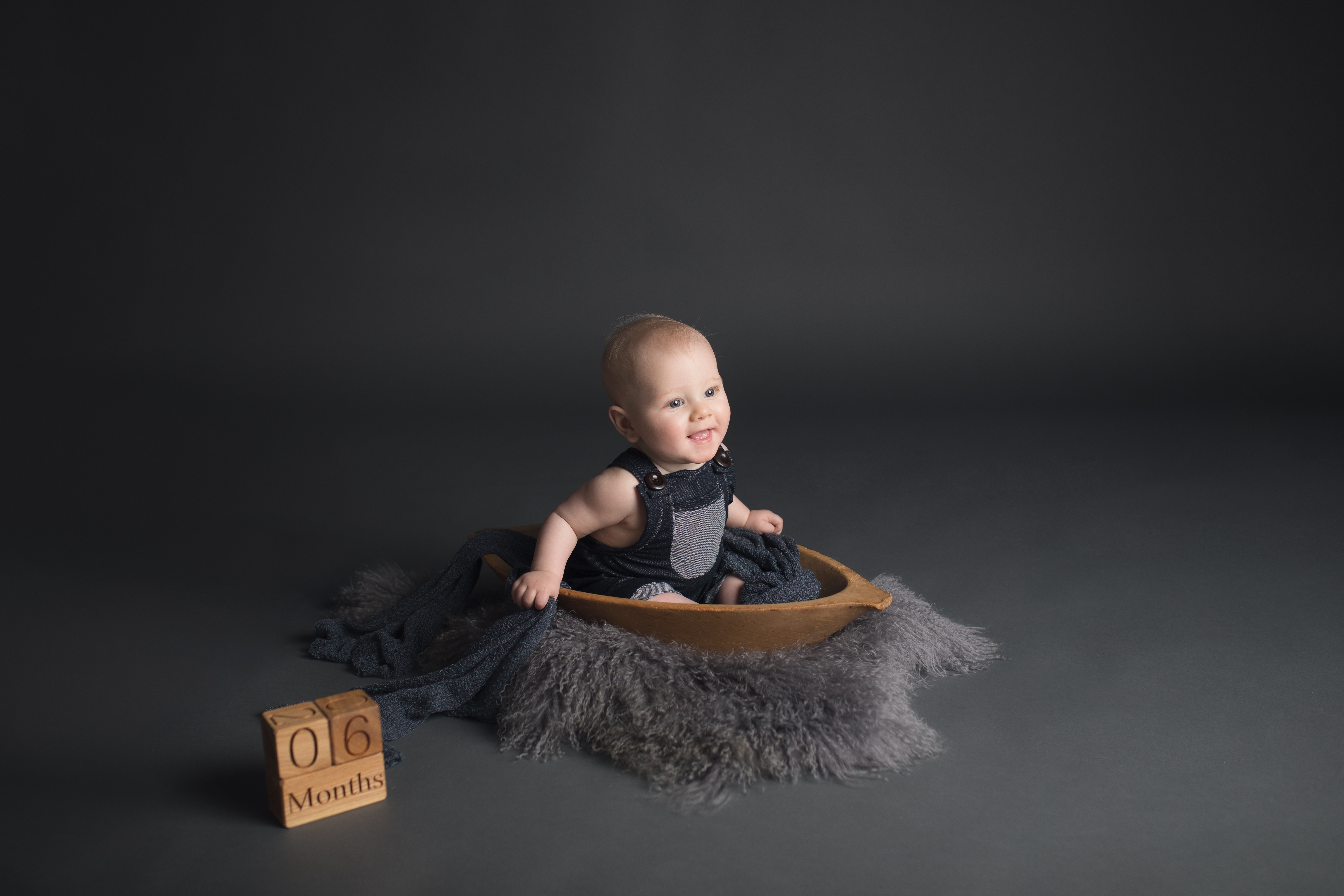 Baby Milestone Sessions in Michigan-