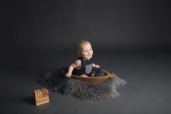 Baby Milestone Sessions in Michigan-
